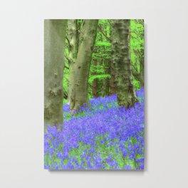 Bluebell Woods, The Wenallt #2 Metal Print