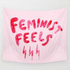 Feminist Feels Wall Tapestry