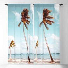 Dominican Republic Palm Beach Blackout Curtain