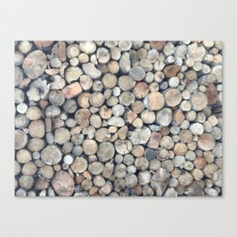Shapes of Iceland Canvas Print