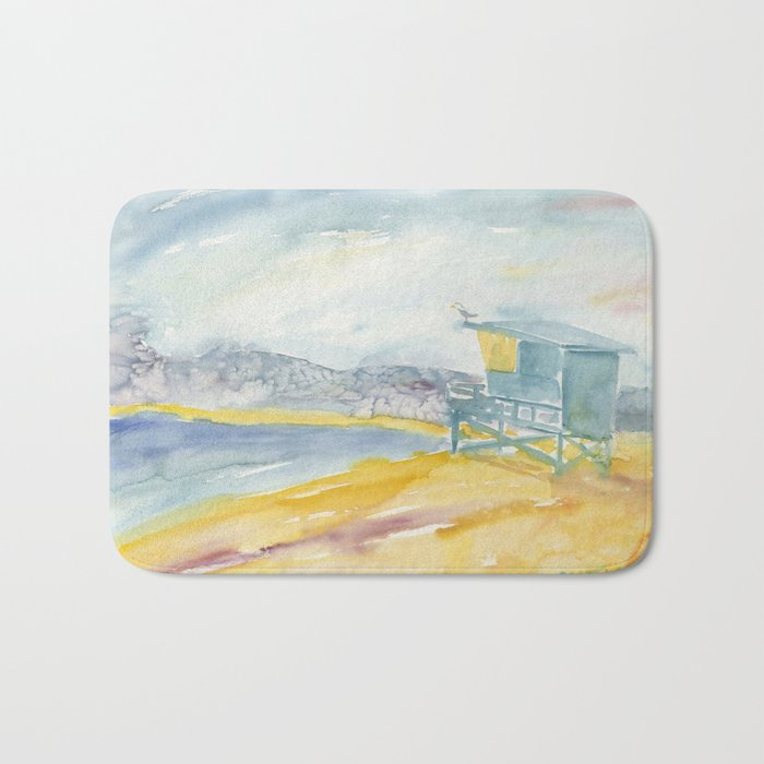 Iconic Venice Beach Bath Mat