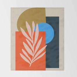 Abstract Art 39 Throw Blanket