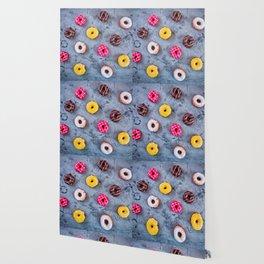 Glazed Donuts Wallpaper