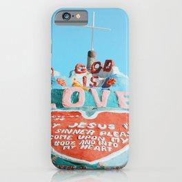 Salvation Mountain iPhone Case