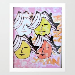 Ladies of Japan Art Print