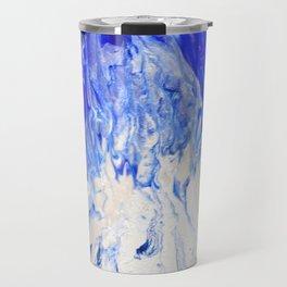 Blue flame Travel Mug