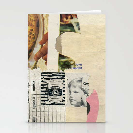 Water Seal Stationery Cards