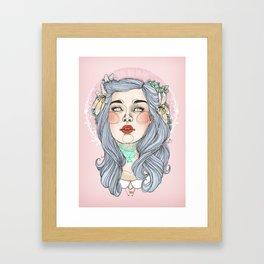 Better invest in cake Framed Art Print