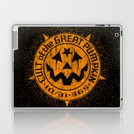 Cult of the Great Pumpkin: Alchemy Logo Laptop & iPad Skin