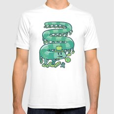 Stampede Mens Fitted Tee White MEDIUM