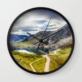 The Lakes of Covadonga, Enol Wall Clock