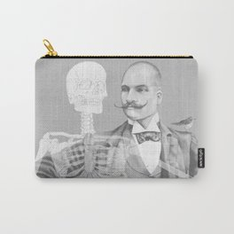 Crown Pursuit -- Black and White Variant Carry-All Pouch