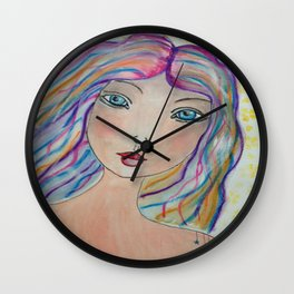 Love Fairy Wall Clock