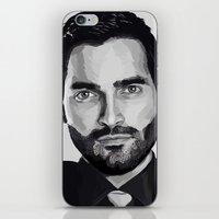 tyler spangler iPhone & iPod Skins featuring Tyler Hoechlin by Finduilas