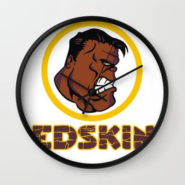 RedSkins Wall Clock