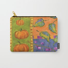 Pumpkins and Beautyberry Fruits Carry-All Pouch