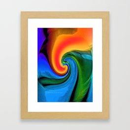 """""""Inside A Flower"""" Print Framed Art Print"""