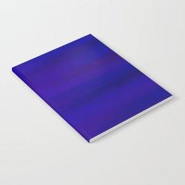 Ultra Violet to Indigo Blue Ombre Notebook