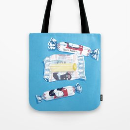 White Rabbit Candy 2 Tote Bag