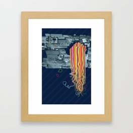 Colorfall Framed Art Print
