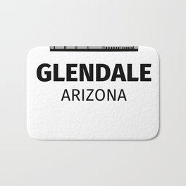 Glendale, Arizona Bath Mat