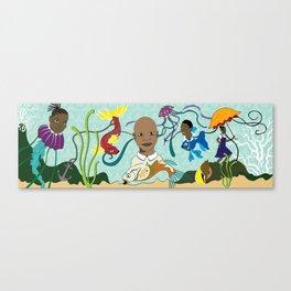 Caribbean Pickney (Children) Canvas Print