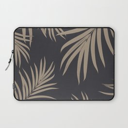 Palm Leaves Pattern Sepia Vibes #2 #tropical #decor #art #society6 Laptop Sleeve