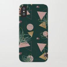 Succulents Atoms #society6 #decor #buyart iPhone X Slim Case