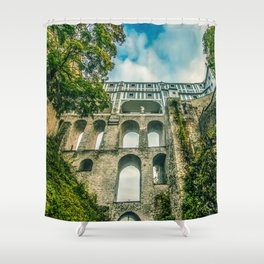 Cesky Krumlov gate Shower Curtain