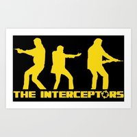 top gear Art Prints featuring The Interceptors - Top Gear by not-the-stig