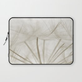 Dandelion Neutral Closeup Laptop Sleeve
