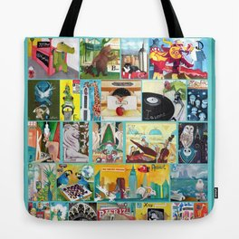 Alphabet City Tote Bag