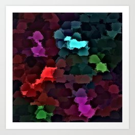 abstract colored background Art Print