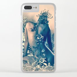 DIVINE VISION Clear iPhone Case