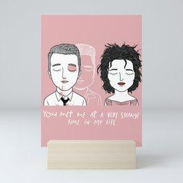 T & M Mini Art Print