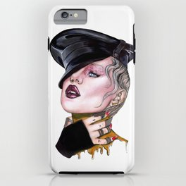 Brooke Candy by NickDraw iPhone Case