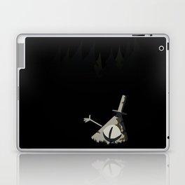 Statue Bill Laptop & iPad Skin