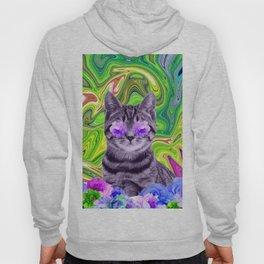 Flowers Cat Hoody