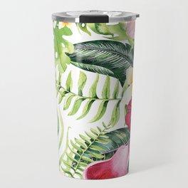 Tropical Botanical Travel Mug