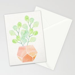 Bonsai Jade Plant Stationery Cards
