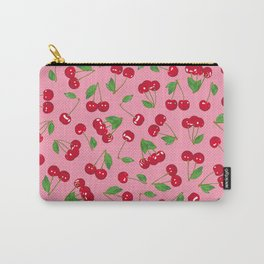 Very cerise - Pinkhttp://society6.com/product/very-cerise-white_mug#27=199 Carry-All Pouch