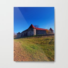 Pathway to Piberstein castle | architectural photography Metal Print