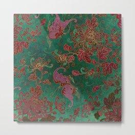 Chrysanthemum Garden Metal Print