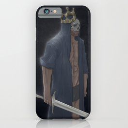 King Of Nothing iPhone Case