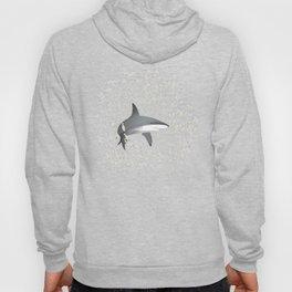 Reef shark and school of fish Hoody