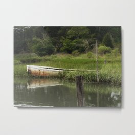 The lost boat Metal Print