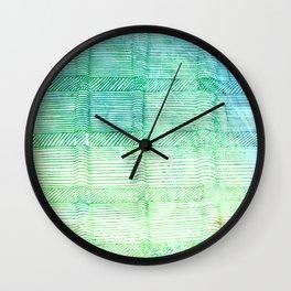 3D Lines Wall Clock