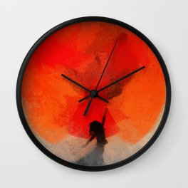 umbrellaliensunshine: atomicherry spring! Wall Clock