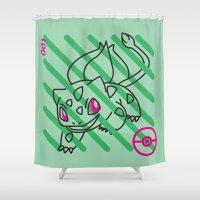 B-001 Shower Curtain