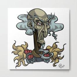 King Haggard Metal Print